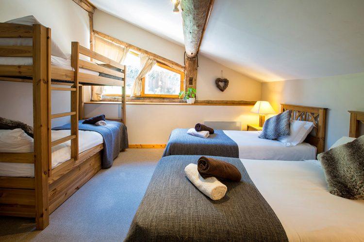 4 Bedroomed Chalet Les Arcs | SkiVillaRoger