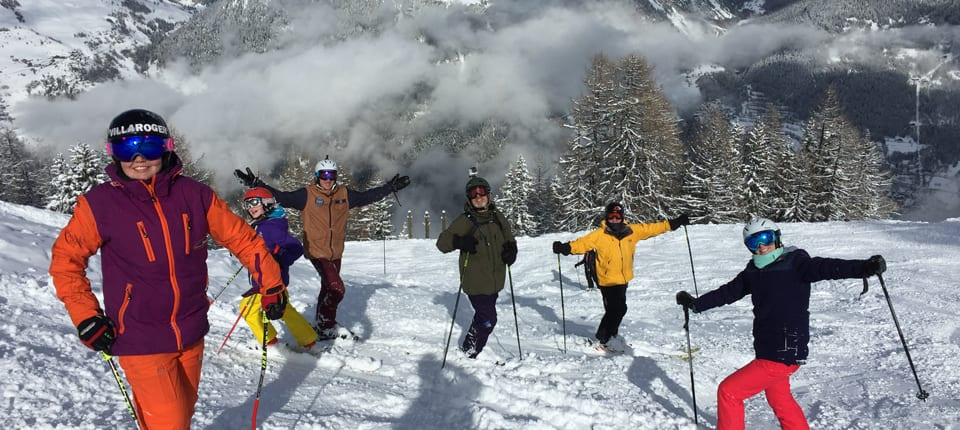 Ski up to 7 different Resorts